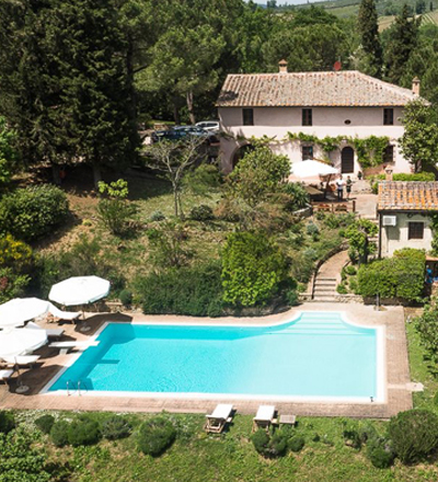 holiday in a villa tuscany